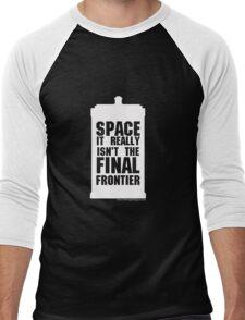 Not the Final Frontier Men's Baseball ¾ T-Shirt