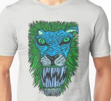 Monster Mondays #2 - Lionel Lion - Anger Monster! - Blue Unisex T-Shirt
