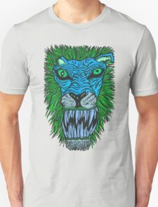 Monster Mondays #2 - Lionel Lion - Anger Monster! - Blue T-Shirt