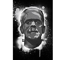 Stencil Boris K Photographic Print