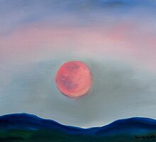 Blue Moon Rising by William Van Doren