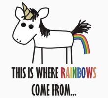 Unicorn Fart by nemo9