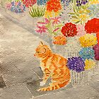 The Flower Seller's Cat by Paula Swenson