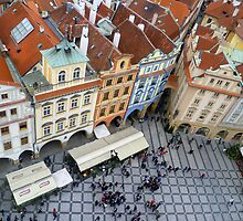 Looking down on Prague by Haylz9