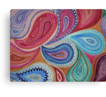 Perfectly Paisley Canvas Print