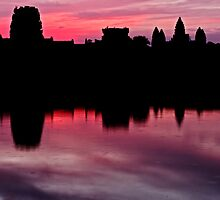 angkor - the very morning light by Klaus Brandstaetter