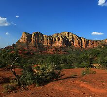 """A View from """"Bell Rock"""" Arizona by Adam Kuehl"""