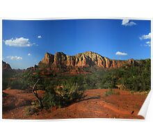 "A View from ""Bell Rock"" Arizona Poster"