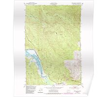 USGS Topo Map Washington State WA Oman Ranch 242958 1949 24000 Poster