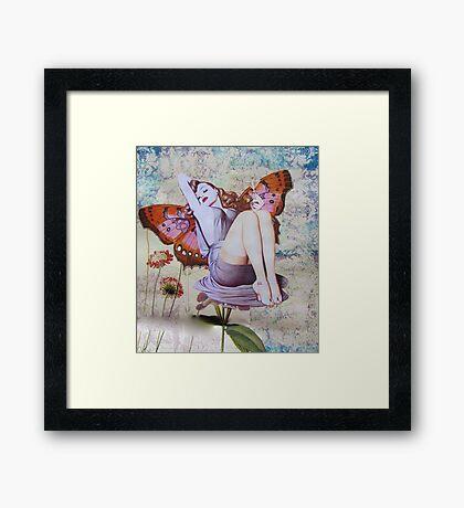 Pinup Girls: Veronica Framed Print