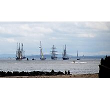 TALL SHIPS LEAVE LIVERPOOL Photographic Print
