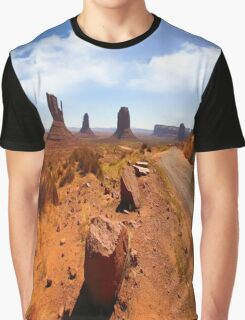 The Road In Graphic T-Shirt