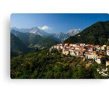 Antona - City in Tuscany, Italy Canvas Print