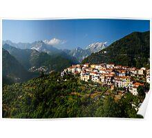 Antona - City in Tuscany, Italy Poster