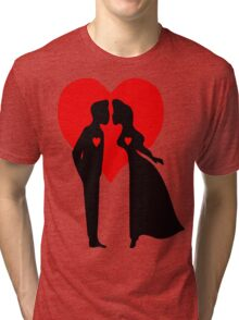 ۞»♥Romantic Love:Lovely Couples Kissing Clothing & Stickers♥«۞ Tri-blend T-Shirt