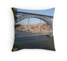 Porto. Throw Pillow
