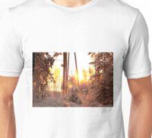 Winter on fire Unisex T-Shirt