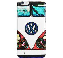 Hippie bus iPhone Case/Skin