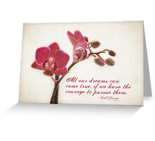 Orchid Dreams Greeting Card