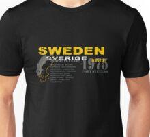 Sweden- Sverige Unisex T-Shirt