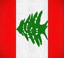 Flag Lebanon Iphone by Netsrotj