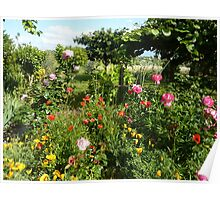 Cottage Garden Selection Poster