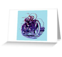 Cycle In First place by Drenco Greeting Card