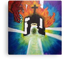 Hail The Fury Canvas Print