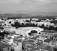 BW Greece Nafplion City 1970s by blackwhitephoto