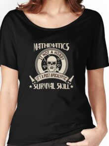 Mathematic Lover Women's Relaxed Fit T-Shirt