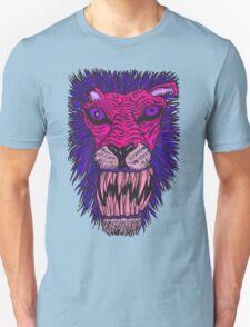 Monster Mondays #2 - Lionel Lion - Anger Monster! - Purple T-Shirt