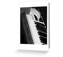Chopin, The Right Hand Greeting Card