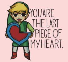 Legend Of Zelda - The Last Piece One Piece - Short Sleeve
