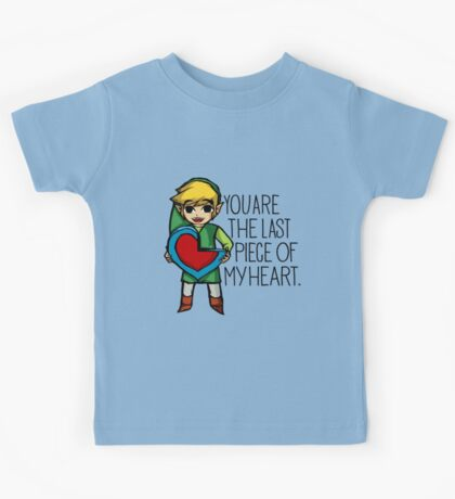 Legend Of Zelda - The Last Piece Kids Tee