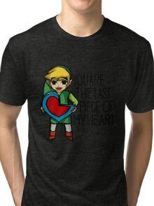 Legend Of Zelda - The Last Piece Tri-blend T-Shirt