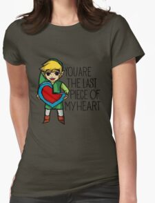 Legend Of Zelda - The Last Piece Womens Fitted T-Shirt