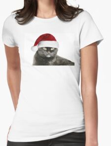 HO HO HO Humbug! Womens Fitted T-Shirt