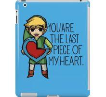 Legend Of Zelda - The Last Piece iPad Case/Skin