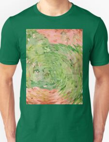 Welcome Spring Abstract Floral Digital Watercolor Painting 1 T-Shirt