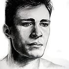 Colton Haynes, featured in Group-Gallery Art&Photography, Graphite Pencils by FDugourdCaput