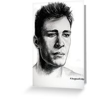 Colton Haynes, featured in Group-Gallery Art&Photography, Graphite Pencils Greeting Card