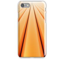 Vanishing Point, Orange for iPhone iPhone Case/Skin