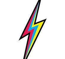 CMYK Lightning by cnfsdkid