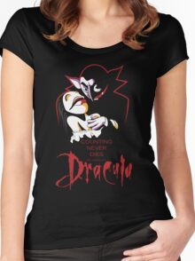 Jim Henson's Dracula Women's Fitted Scoop T-Shirt