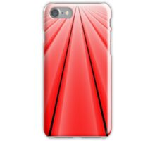 Vanishing Point, Red for iPhone iPhone Case/Skin