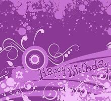 Happy Birthday Purple by photecstasy