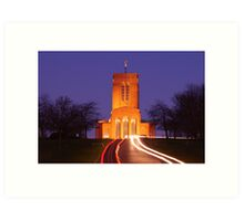 Guildford Cathedral, Surrey Art Print