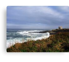 Sigh Time....Outside Yachats, Oregon Canvas Print