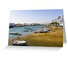 City harbour Greeting Card