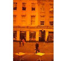 Through the Orange Window Photographic Print
